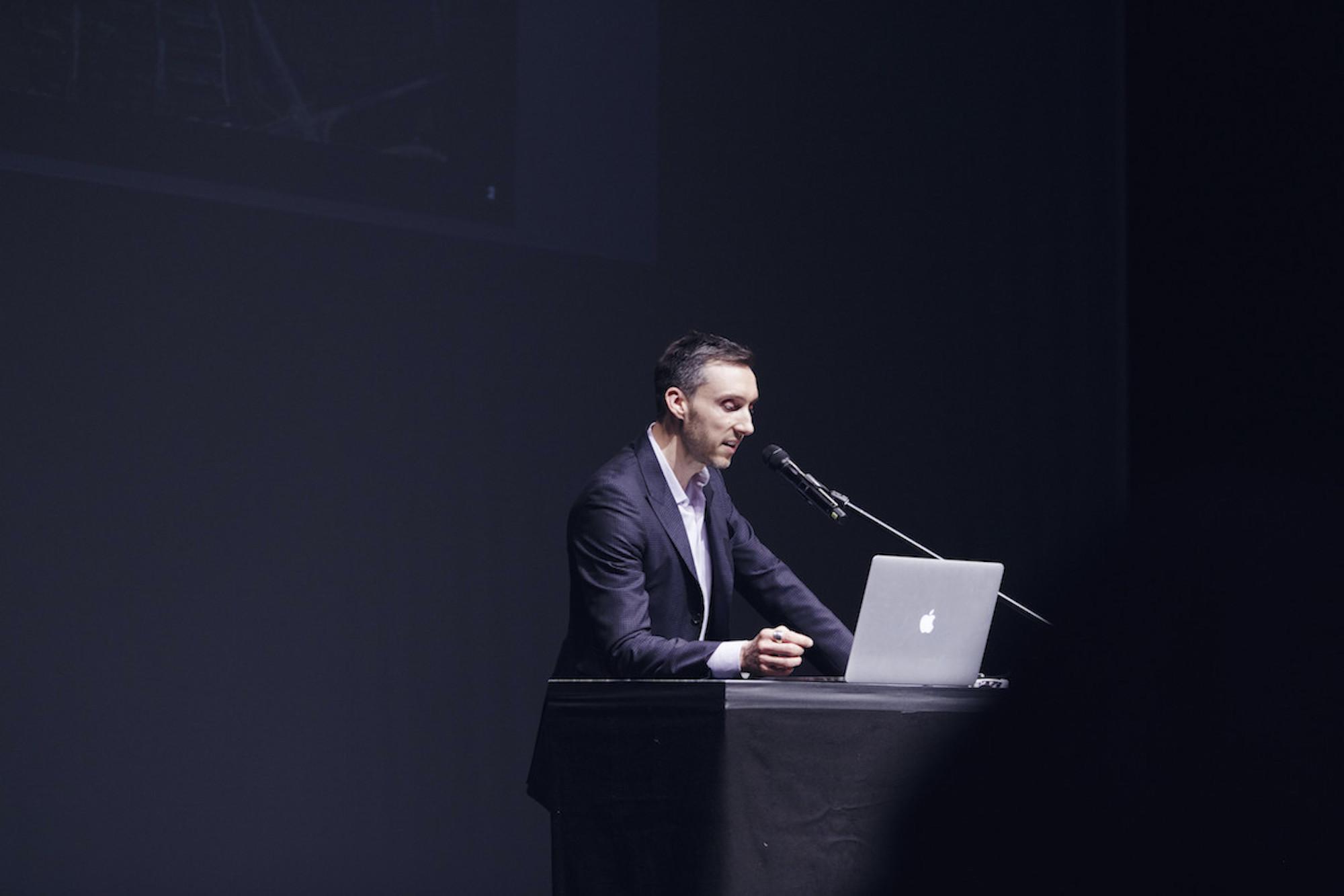 Stefan F. Höglmaier, Architecture Matters 2016 in der Reaktorhalle, München