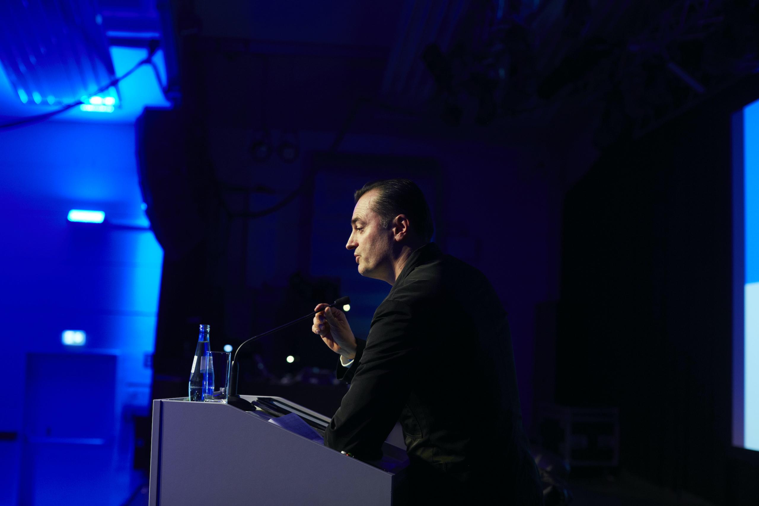 Sprecher Patrick Schumacher Architecture Matters Konferenz 2017 Technikum, München