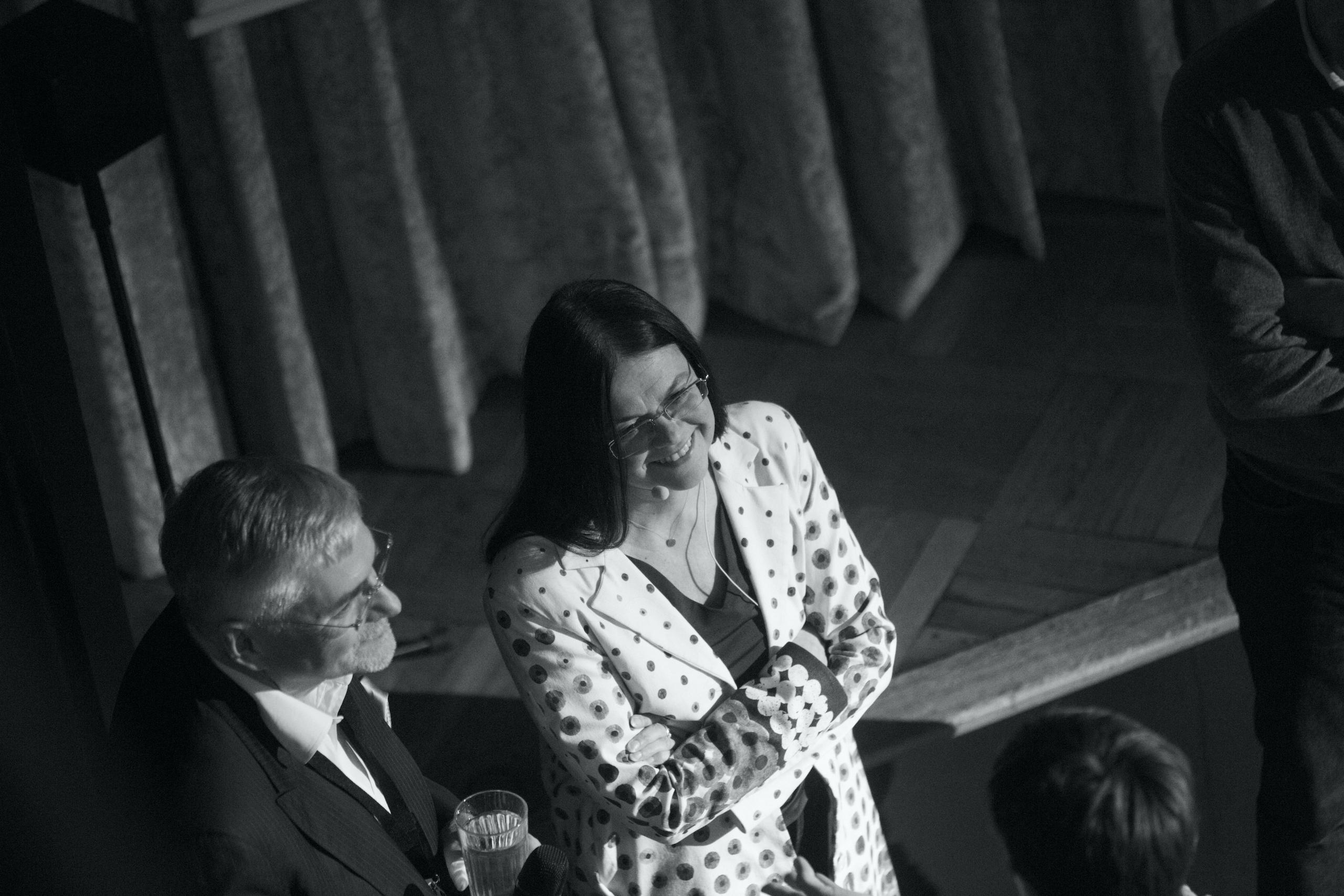 Elisabeth Merck, Architecture Matters 2018 im Künstlerhaus, München Sprecherin Konferenz