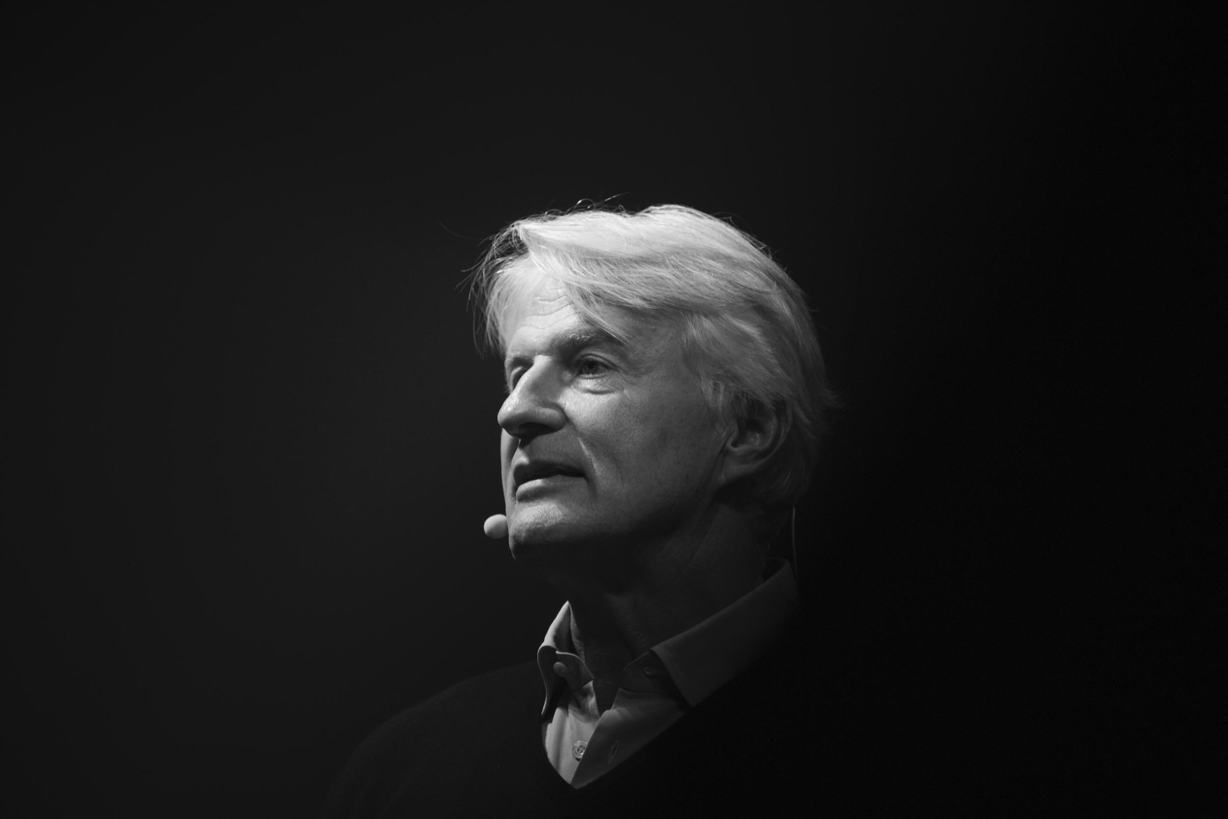 Christoph Ingenhoven Sprecher Konferenz Architecture Matters 2019 in der Alten Akademie