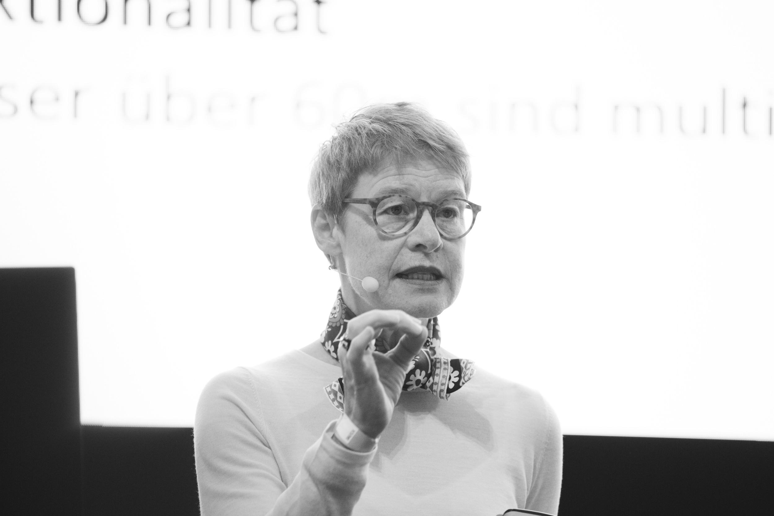 Regula Luescher, Architecture Matters Konferenz 2019 in der Alten Akademie München