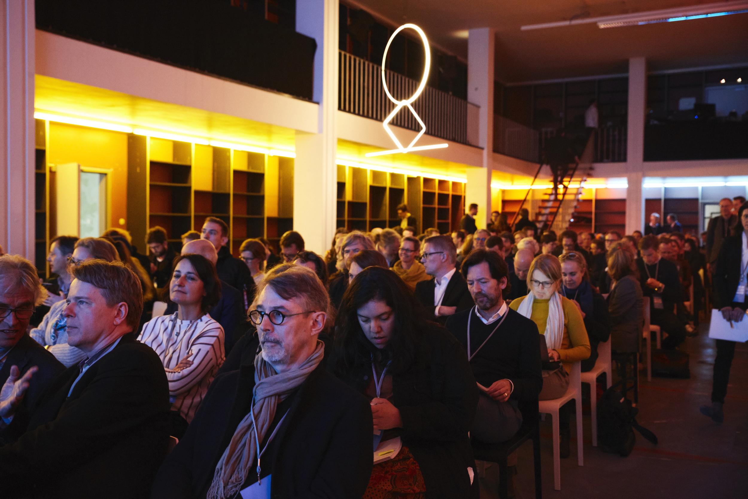 Publikum Architecture Matters 2019 in der Alten Akademie München
