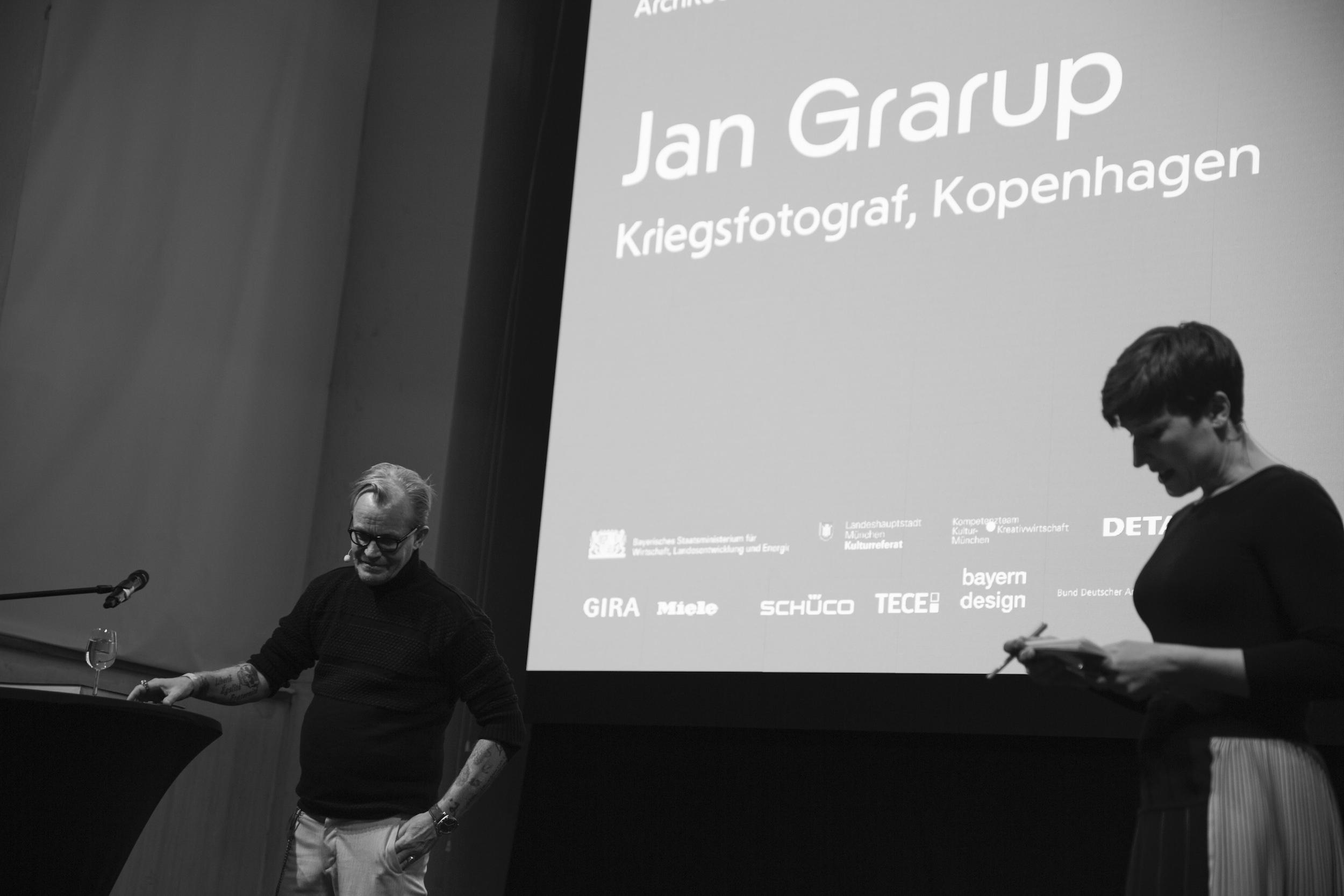 Jan Garup, Architecture Matters Konferenz 2019 in der Alten Akademie München