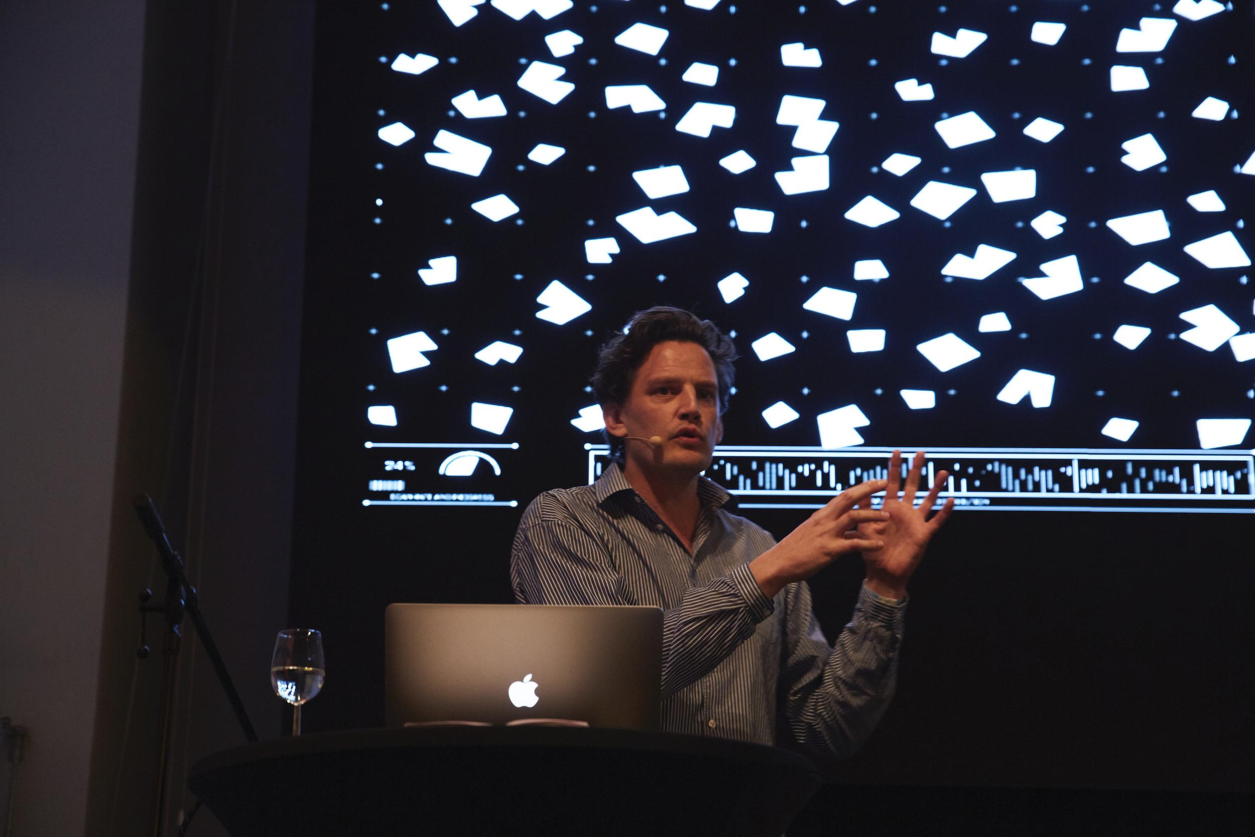 Tobias Nolte Sprecher Architecture Matters 2019 in der Alten Akademie München