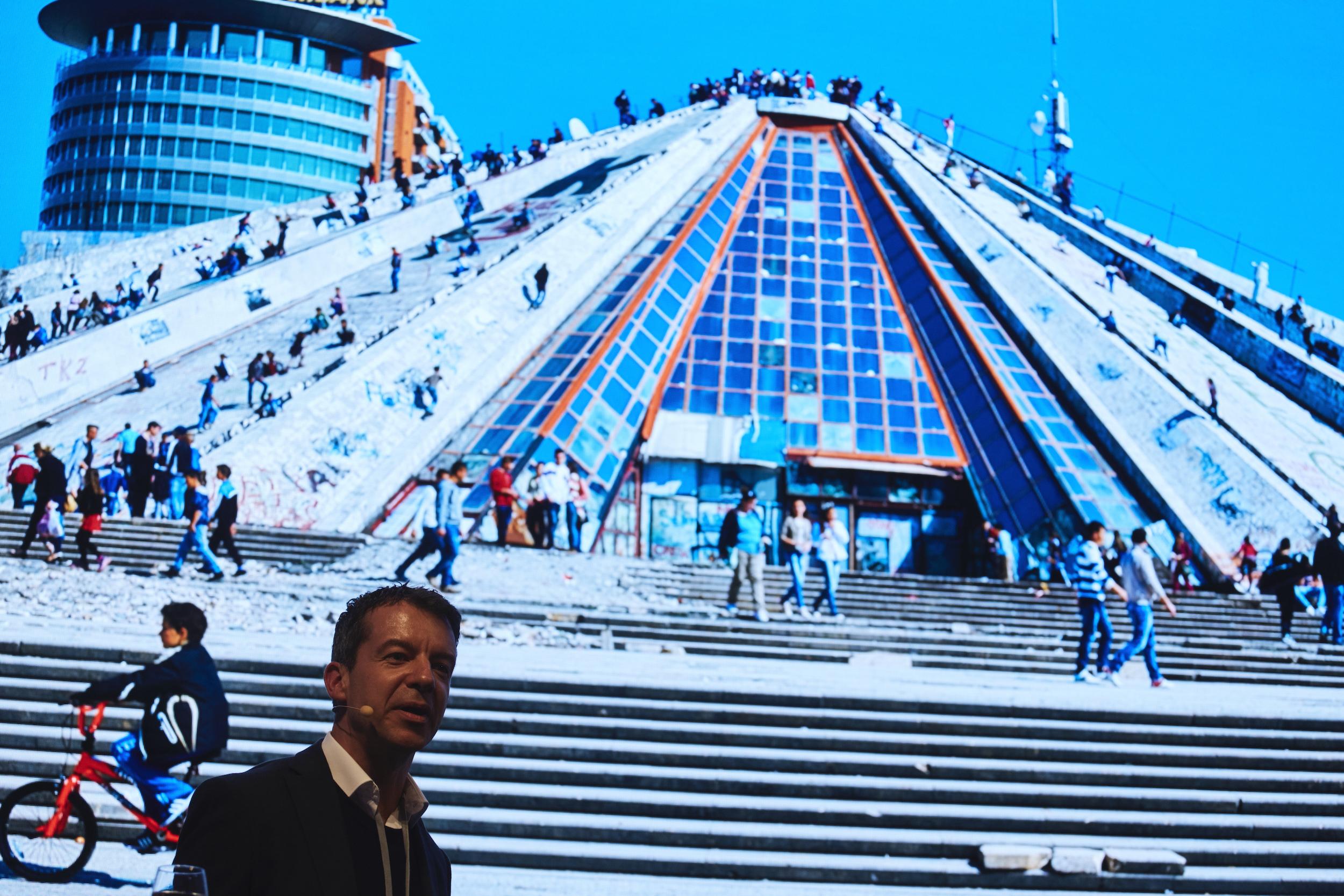 MVRDV Jan Knikker Architecture Matters Konferenz 2019 in der Alten Akademie München
