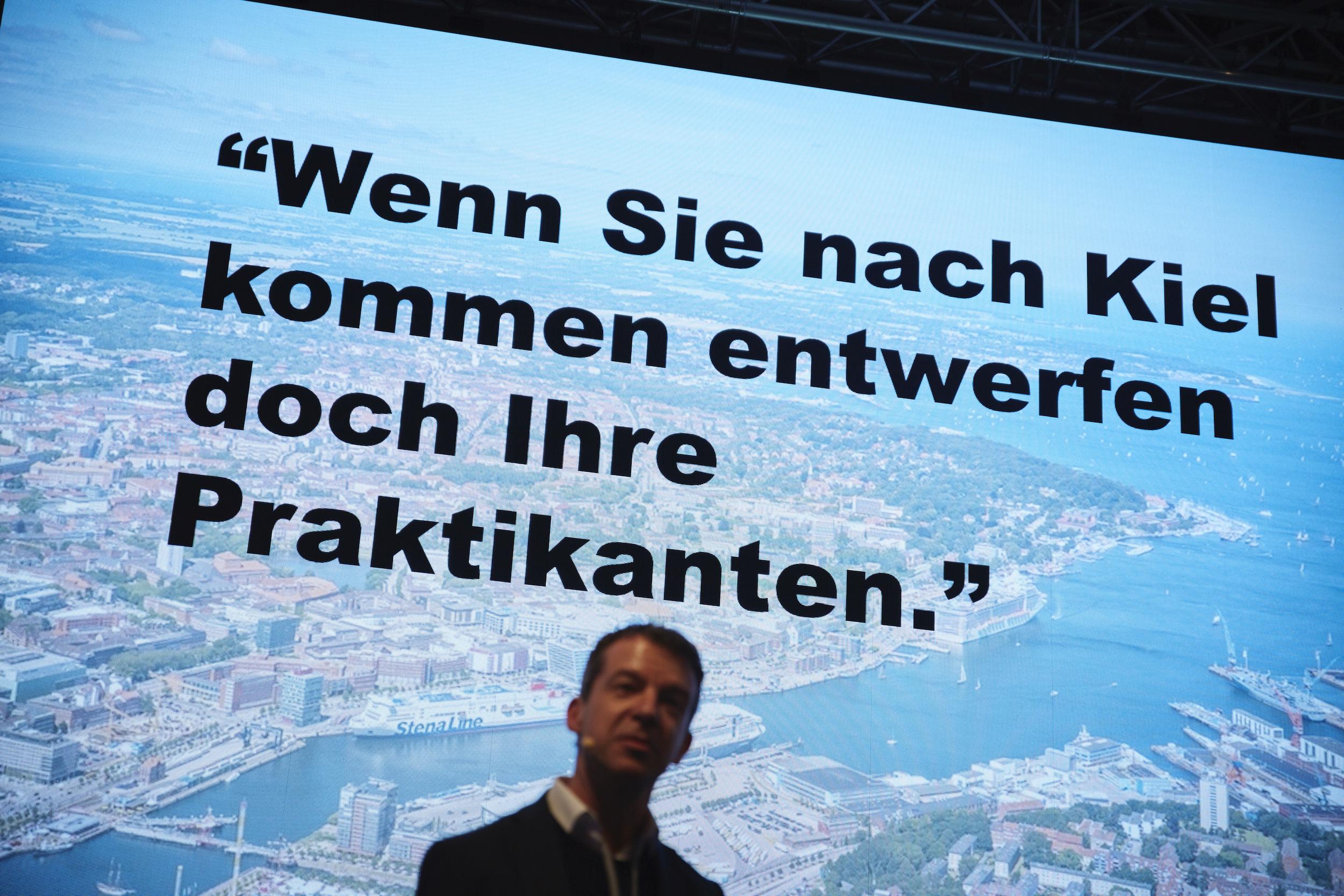 an Knikker, Architecture Matters Konferenz 2019 in der Alten Akademie München Sprecher