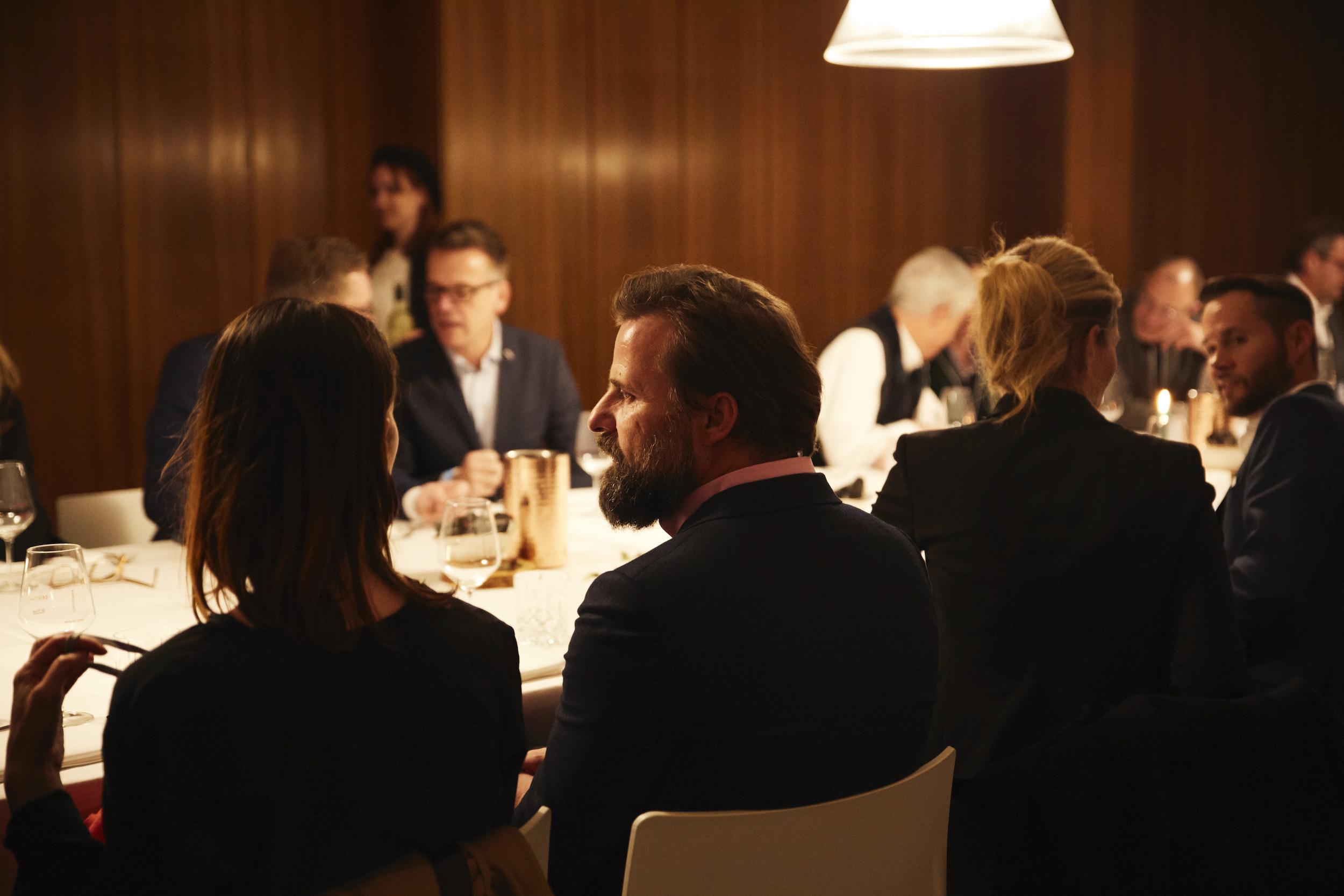 Dinner, Architecture Matters Konferenz 2019 in der Alten Akademie München