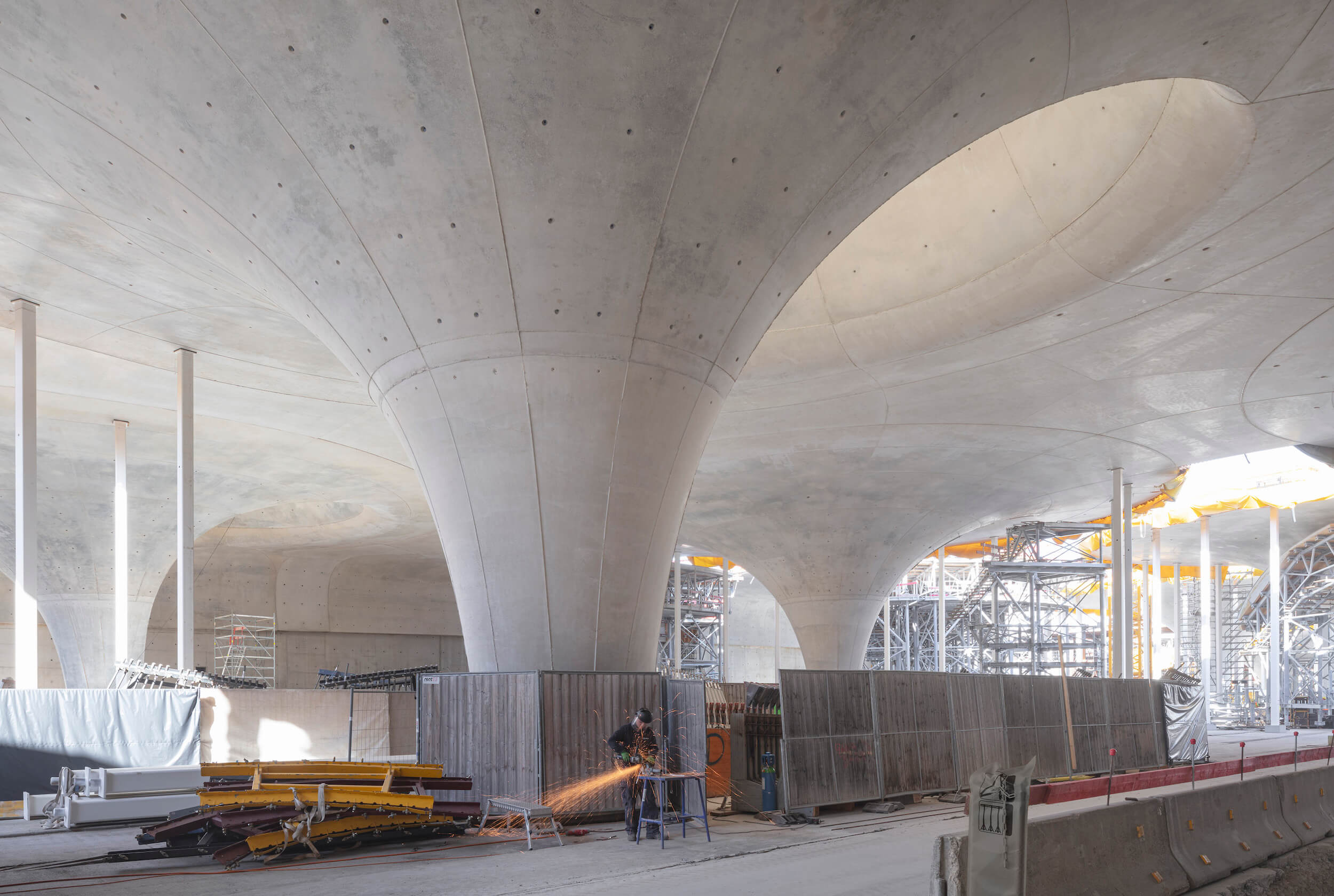 Hauptbahnhof Stuttgart Baustelle
