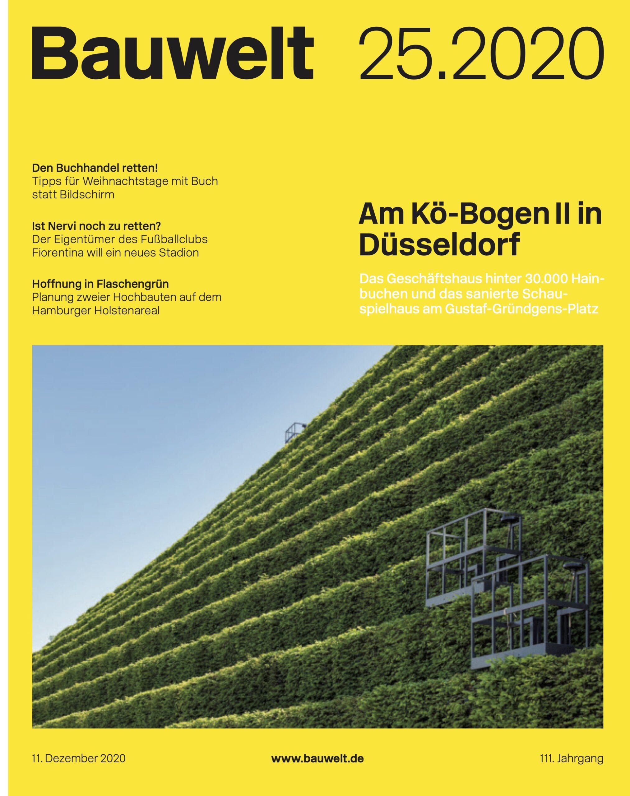 Kö-Bogen Ingenhoven Architects Grünfassade