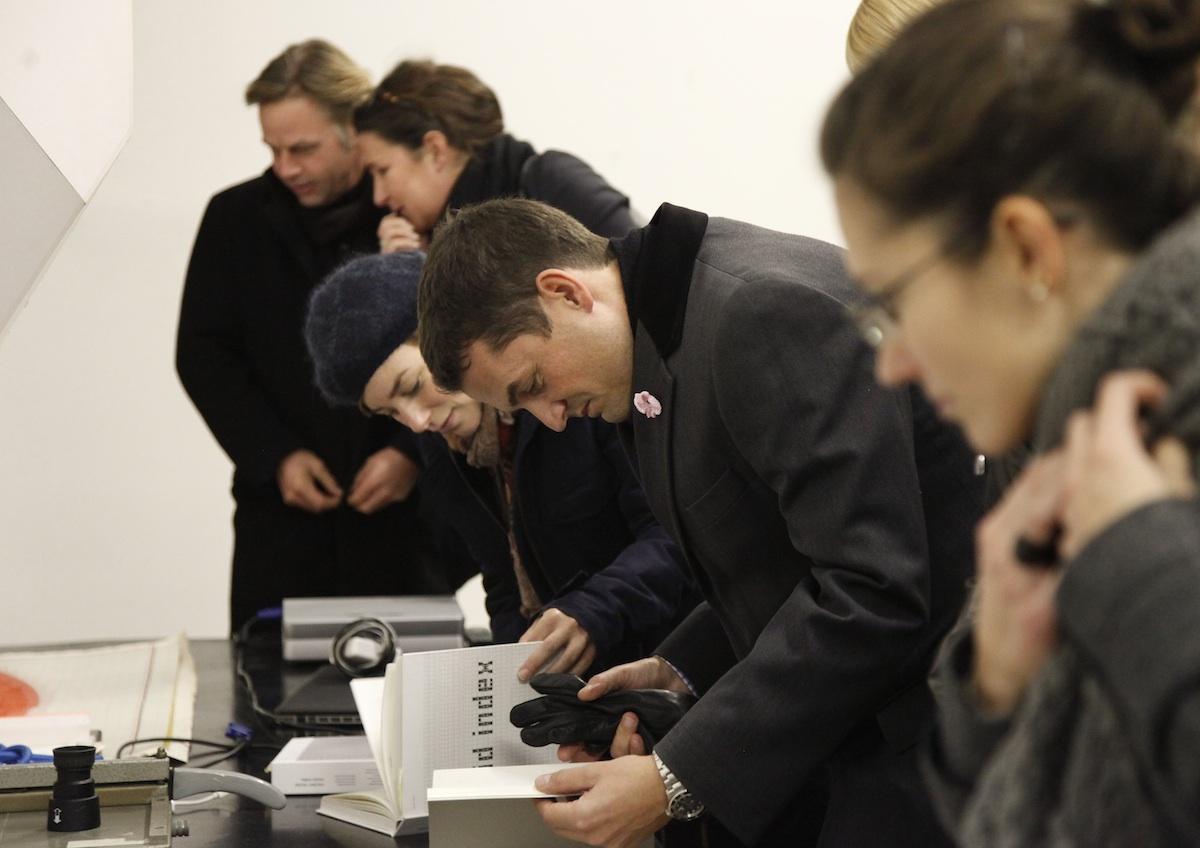 Event Networks plan A Cook & Cross 2011, Im Studio von Carsten Nicolai, Berlin