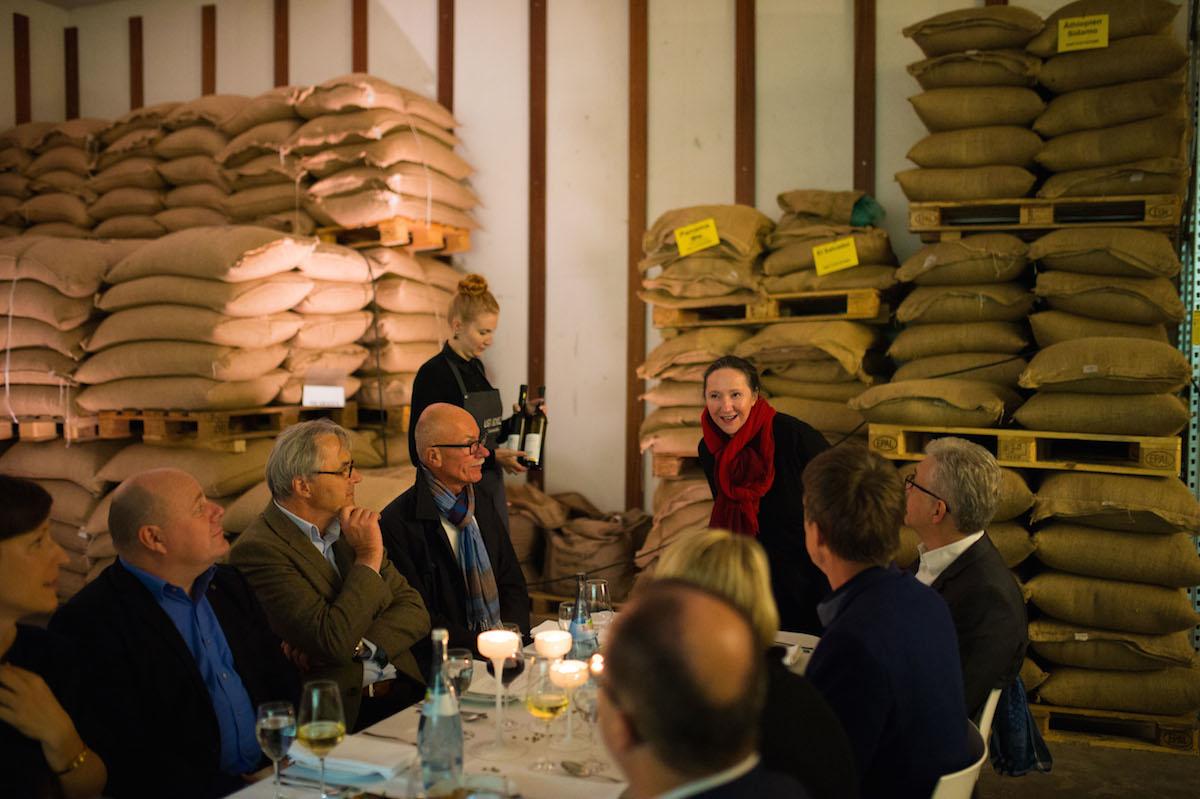 Event Cook & Cross 2016, Im Rohkaffeelager, Stuttgart Networks plan A