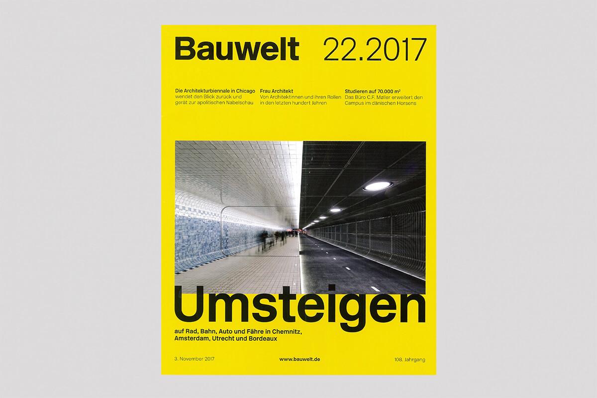 Cover Bauwelt 22.2017