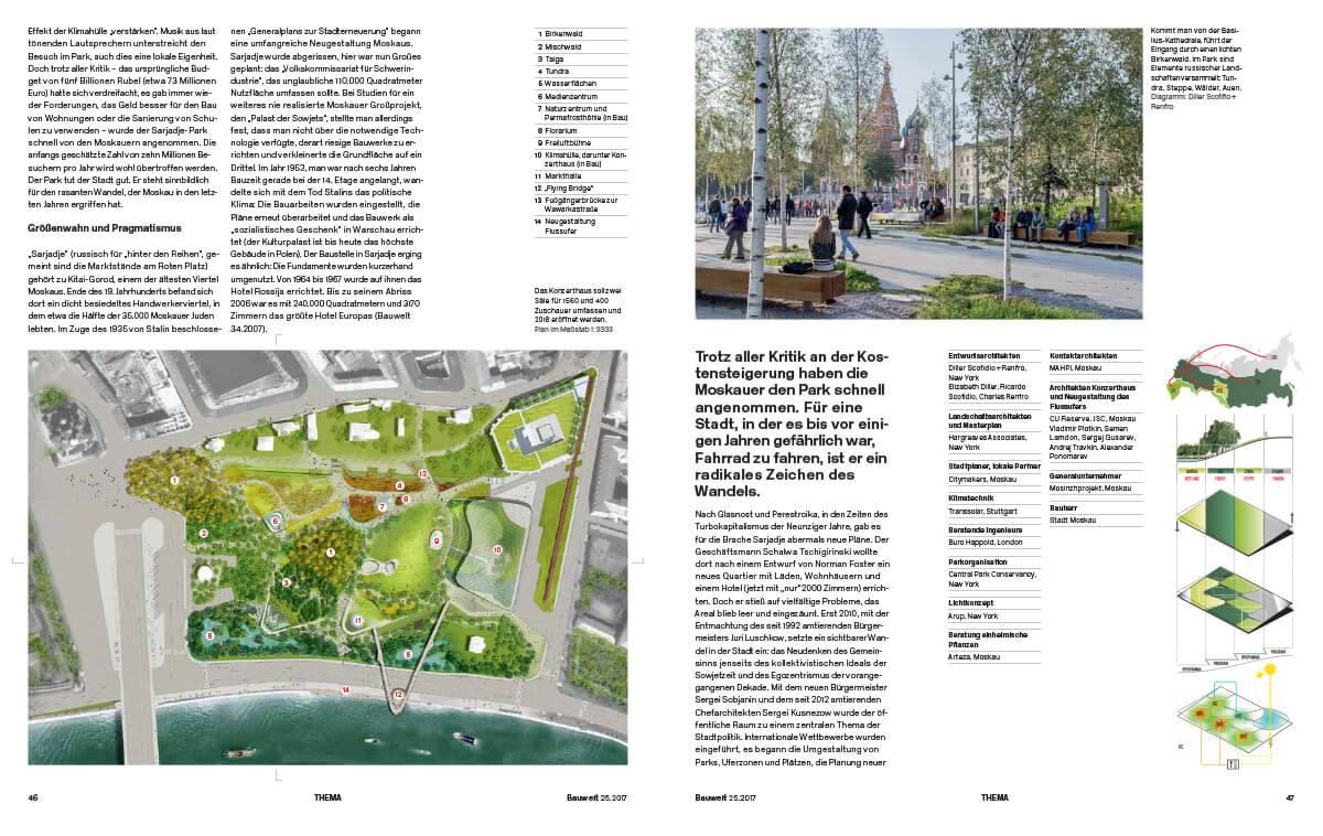 Die Stadt neu entdecken von Nadin Heinich für Bauwelt