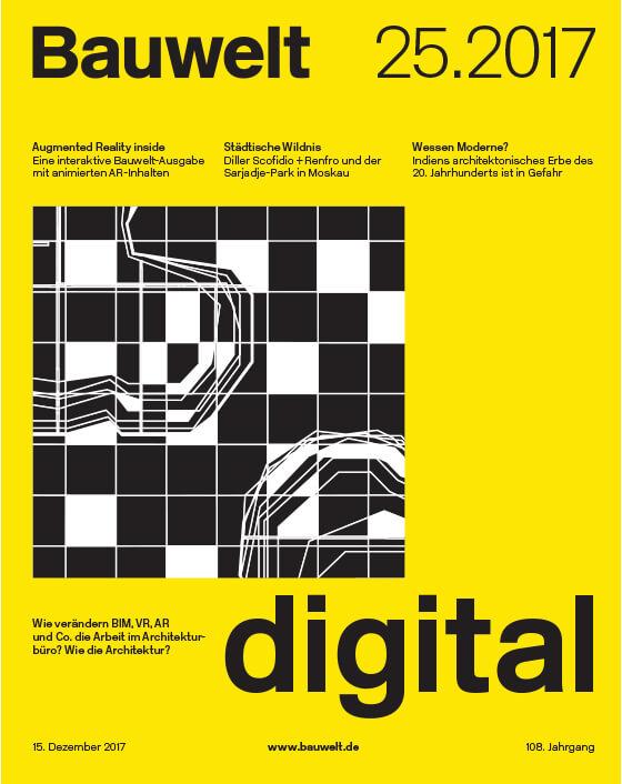 Cover Bauwelt 15.2017