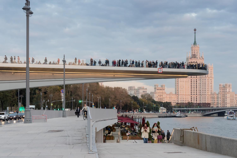 Sarjadje Park Moskau Diller Scofidio + Renfro