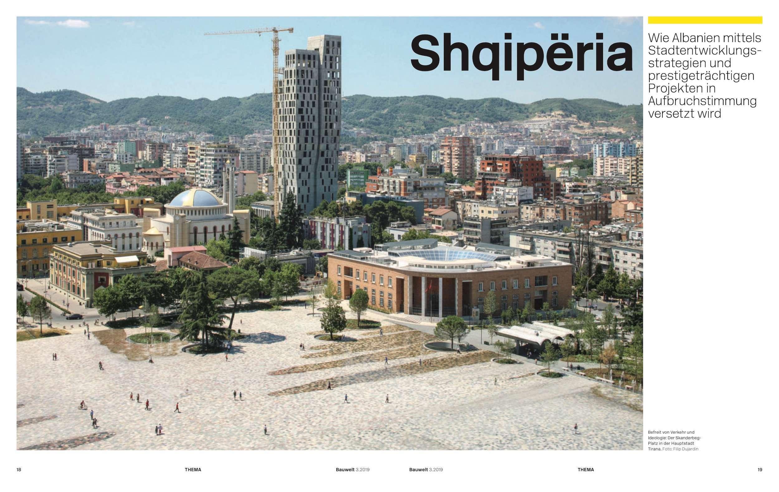 Shqipëria, eine Bauwelt über Albanien Foto: Jonas Koenig
