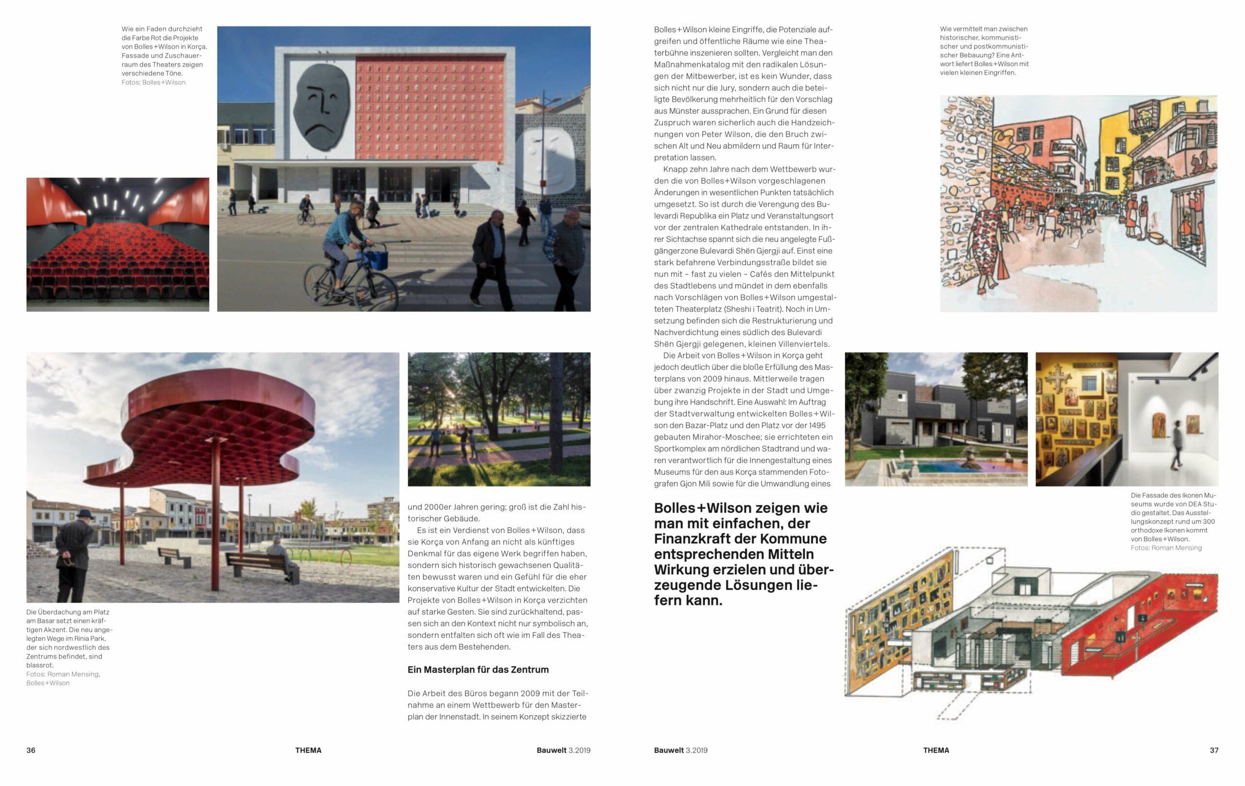 Shqipëria, eine Bauwelt über Albanien