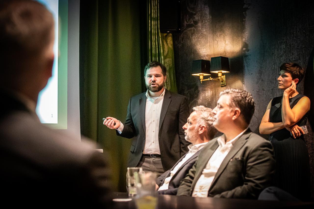 plan A Networks 2021, Vortrag Dr. Claus Michelsen in im TORTUE Hamburg