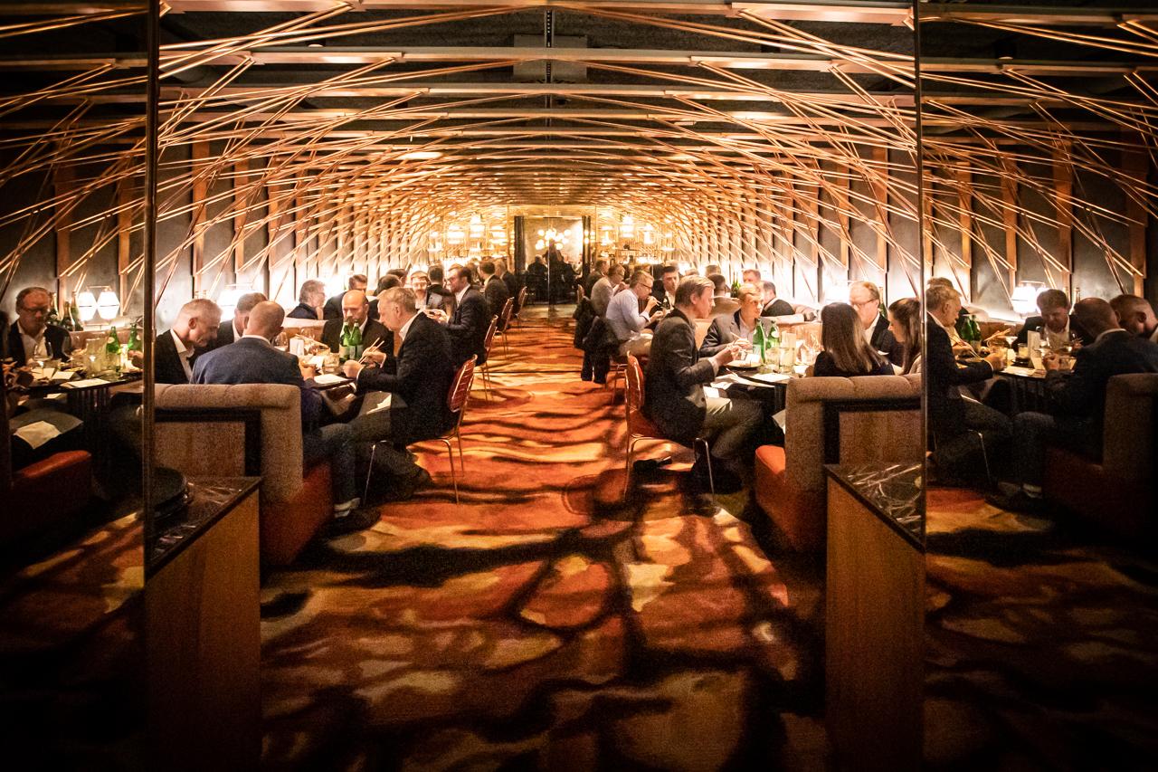 plan A Networks 2021, Dinner in der Mirror Chamber im TORTUE Hamburg